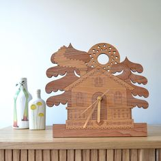 Cottage Mantle Clock