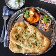 Oven Baked Garlic Naan