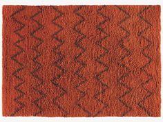 Flokati large orange rug £395.00