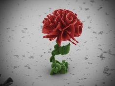 Gorgeous Nanocrystal Flowers Sprout Under Electron Microscope | Wired Design | Wired.com