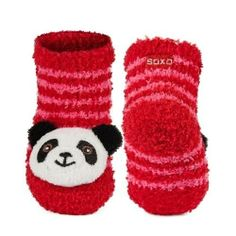 SOXO Infant striped chenille socks with rattle | BABIES \ Socks | SOXO socks, slippers, ballerina, tights online shop