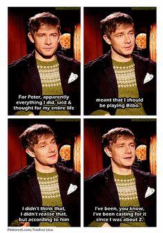 Martin Freeman, the perfect Bilbo
