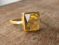 Hey, I found this really awesome Etsy listing at https://www.etsy.com/listing/167037212/citrine-ring-gold-ring-silver-stone-ring