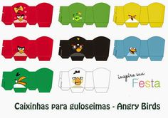 Angry Birds Free Printable Boxes.
