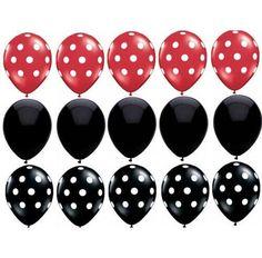 Globos de cumpleaños Mickey Mouse partido de ratón por evescrafts