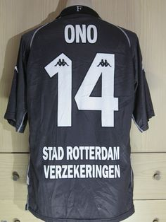 ae362ae5d97 FEYERNOORD HOLLAND EREDIVISE 2002 VINTAGE PLAYER SHINJI ONO SOCCER JERSEY  SHIRT | eBay. Soccer ShirtsFootball JerseysJ ...