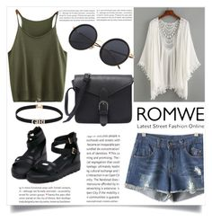 """ROMWE"" by esma-373 ❤ liked on Polyvore featuring Oris"