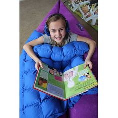 Use the Cozy Canoe is the perfect hideaway for kids who seek sensory input through deep pressure. Combine with a weighted blanket to create a sensory heaven for kids with autism, ADHD, or SPD!