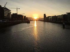 First light Dublin Dublin Ireland, One Light, Sunrise, Celestial, Outdoor, Instagram, Outdoors, Outdoor Games, The Great Outdoors