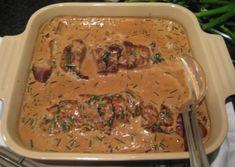 Pork fillet with dijon and cognac sauce Food N, Good Food, Food And Drink, Jerusalem Artichoke Soup, Keto Recipes, Cooking Recipes, Drink Recipes, Pork Fillet, Bon Appetit