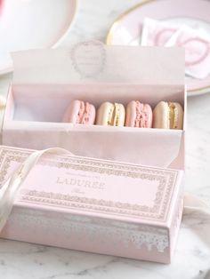 An Afternoon In Mayfair: Opulent Pink Treats In A Ladurée Dreamland, Geranium &. - An Afternoon In Mayfair: Opulent Pink Treats In A Ladurée Dreamland, Geranium & Vanilla Macarons Aesthetic Food, Pink Aesthetic, Laduree Paris, Yummy Treats, Sweet Treats, Cute Bakery, Pink Treats, Vanilla Macarons, Mayfair
