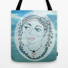 Julie B Tote Bag by Amy Chace - $22.00