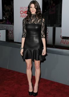 Ashley Greene - DKNY dress