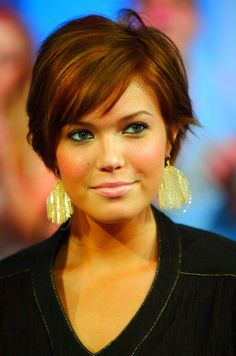 super short hairstyles for thin hair round faces | New Hairstyles For Round Face Shapes 2012, New Hairstyles 2012 ...