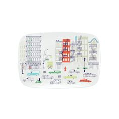About Town Oblong Platter by  Kate Spade New York