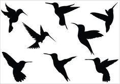 small simple hummingbird tattoo - Google Search