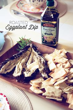 Roasted Eggplant Dip from WhipperBerry