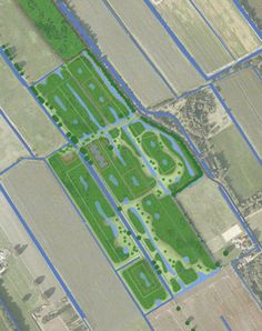 Natural burial site near Heerenveen, design by Vollmer & Partners