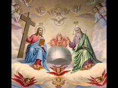 Acatistul Sfintei Treimi - pr. Dani Sfart - YouTube Catholic Pictures, Jesus Pictures, Pictures To Draw, Jesus Christ Images, Jesus Faith, Mary And Jesus, Jesus Is Lord, Husky Drawing, Religion