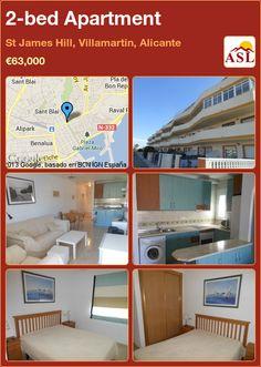 2-bed Apartment in St James Hill, Villamartin, Alicante ►€63,000 #PropertyForSaleInSpain
