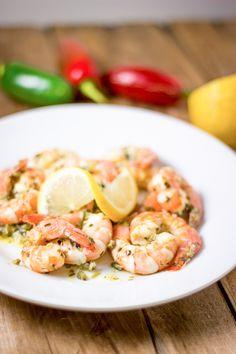 IMG_1290 Cilantro Shrimp, Prawn Shrimp, Appetizer Recipes, Snack Recipes, Appetizers, Snacks, Seafood, Clean Eating, Lemon