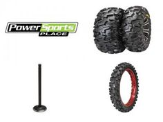 Have your ATV, UTV, or dirt bike tires seen better days? Has your engine lost some of its vim and vigor? No problem--PowerSports Place has the remedies for what ails your faithful steed.Here are some