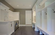 traditional laundry room farmhouse craftsman clean design