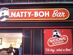 The Natty Boh Bar: