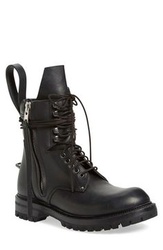 RICK OWENS Army Boot (Men). #rickowens #shoes #boots