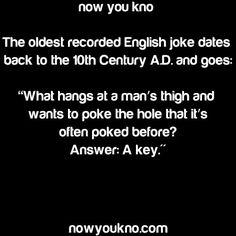 The oldest recorded joke was a dick joke.