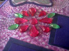 Rhinestone flowers!