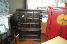 Bethie B Item: high boy dresser.