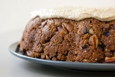 Parsnip & Carrot Cake with Coconut Cashew Frosting