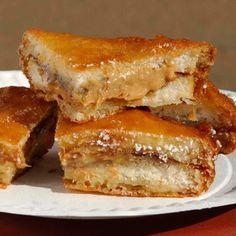 Deep-Fried PB & Banana Sandwich