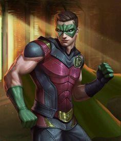 Robin from Injustice 2 Mobile Robin 4 Nightwing, Batwoman, Batgirl, Marvel Comics, Dc Comics Superheroes, Dc Comics Art, Injustice 2 Characters, Dc Comics Characters, Robin Dc