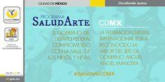 #SaludArteCDMX es un programa de Gobierno de la Ciudad de México que ofrece educación para la vida a los niños y niñas de cien escuelas primarias públicas marginadas del DF.  -Miguel Ángel Mancera-