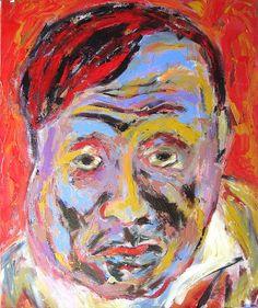 Self Portrait. Maurice de Vlaminck