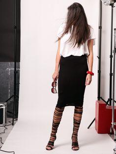 Gladiator sandals Gladiator Sandals, Skirts, Fashion, Moda, Fashion Styles, Skirt, Fashion Illustrations, Gowns
