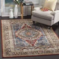 Shop for Safavieh Bijar Traditional Oriental Royal Blue/ Brown Distressed Rug (9' x 12'). Get free shipping at Overstock.com - Your Online Home Decor Outlet Store! Get 5% in rewards with Club O! - 18661603