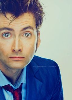 David Tennant. He just stares into your soul. And you just melt like butter!!!!!