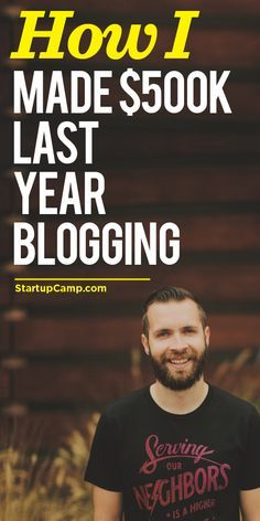 How I Made $500k Last Year Blogging  This digs deep into that blogging game.