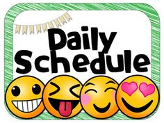 Image result for schedule emojis