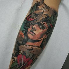 """@tdonaire #thebestspaintattooartists"""