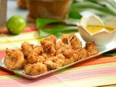 Knockout Coconut Shrimp with Spicy Mango Sauce recipe from The Kitchen via Food Network