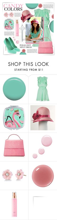 """CANDY COLORS"" by celine-diaz-1 ❤ liked on Polyvore featuring Jin Soon, Tara Jarmon, Hunting Season, Tiffany & Co., Topshop, Irene Neuwirth, Clinique, KORA Organics by Miranda Kerr and Sergio Rossi"