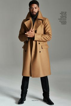 Man Of Style: Actor Jussie Smollett for InStyle Magazine September 2015