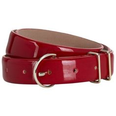 Hobbs Kendal Belt, Crimson (97 CAD) ❤ liked on Polyvore featuring accessories, belts, genuine leather belt, hobbs, 100 leather belt, real leather belt y leather buckle belt