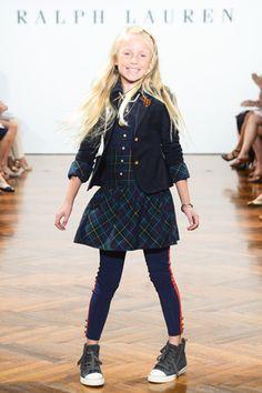 Ralph Lauren Girls Fashion Show   http://www.elizabethstreet.com/style/ralph-lauren-fashion-show