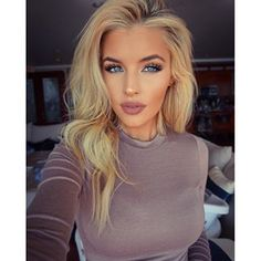 Jean Watts: When you worry about what other people think of you, you give up the power to enjoy you. Your opinion of yourself is your key to happiness. Flawless Makeup, Gorgeous Makeup, Love Makeup, Skin Makeup, Beauty Makeup, Makeup Looks, Hair Beauty, Bronzer Makeup, Blonde Beauty