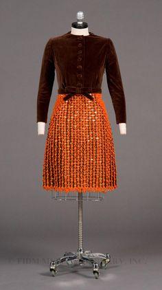1965–1967 evening dress, Scaasi